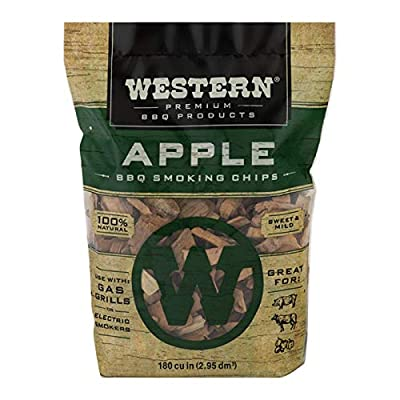 Western Premium BBQ Products Apple Smoking Chips, 6.48 lbs from WW Wood inc