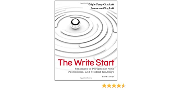 Amazon.com: The Write Start: Sentences to Paragraphs with ...