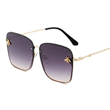 GCC Las Gafas de Sol pequeña Abeja Jelly Degradado de ...