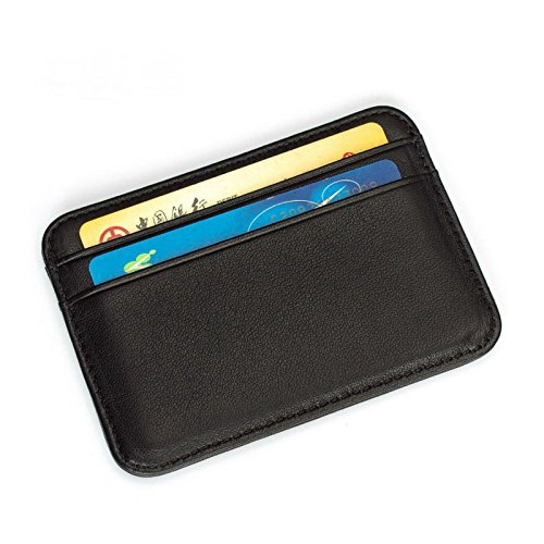 Super Slim Soft 100% Sheepskin Genuine Leather Card Holder Card Case Credit Card Organizer Men Women Wallets Unisex Purse