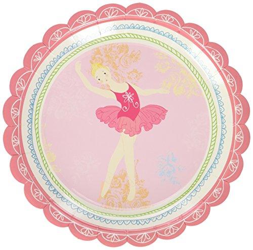 Ballerina Tutu Dessert Plates (Meri Meri Party Plates, Little Dancers - Small)