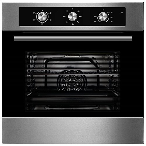 Cookology Built-in Electric Single Fan Oven in Stainless Steel with Minute...