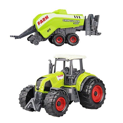 SONONIA 合金製 ミニ農場車両 トラック モデル 子供 屋内と屋外ゲーム ギフト 全10色選べ - #2  22.5 * 6センチメートル