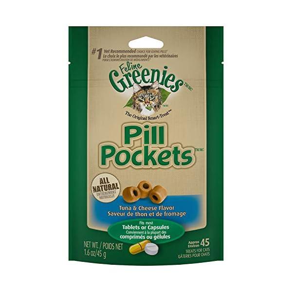 Cat Health Products Feline Greenies Pill Pockets Cat Treats