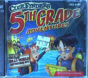 Clue Finders: 5th Grade Adventure / Secret of the Living Volcano (CD-ROM for Windows 95/98/ME/2000/XP and MAC 8.6-9.x/OS-X/PowerMac)