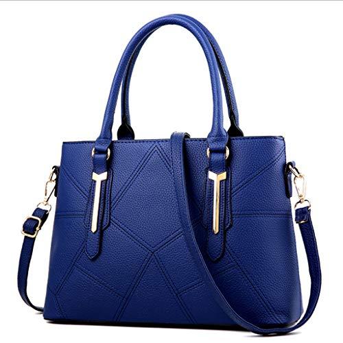 La De 33 Azul Nj 9 Manera 24 Vino 13cm Rojo Oscuro color Bolso 33x24x13cm Múltiples Mujer Bolso Hombro Colores Funciones Tamaño AEPPrwqtH