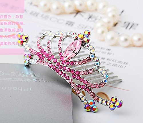 Generic Closeouts genuine 2015 new children's hair accessories crown tiara tiara princess crown tiara tiara 80510 free national dish made