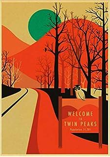 PWERWOTAM Twin Peaks Película de Terror Fire Walk Vintage ...