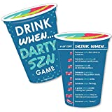 Darty SZN - Drink When Party Game Cards - Drinking Game - 20 Cards