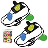 2 Set 200 Yard 3 Person Water Balloon Launcher Free Ballons- Sold by: Mike's Garage Sale Today!