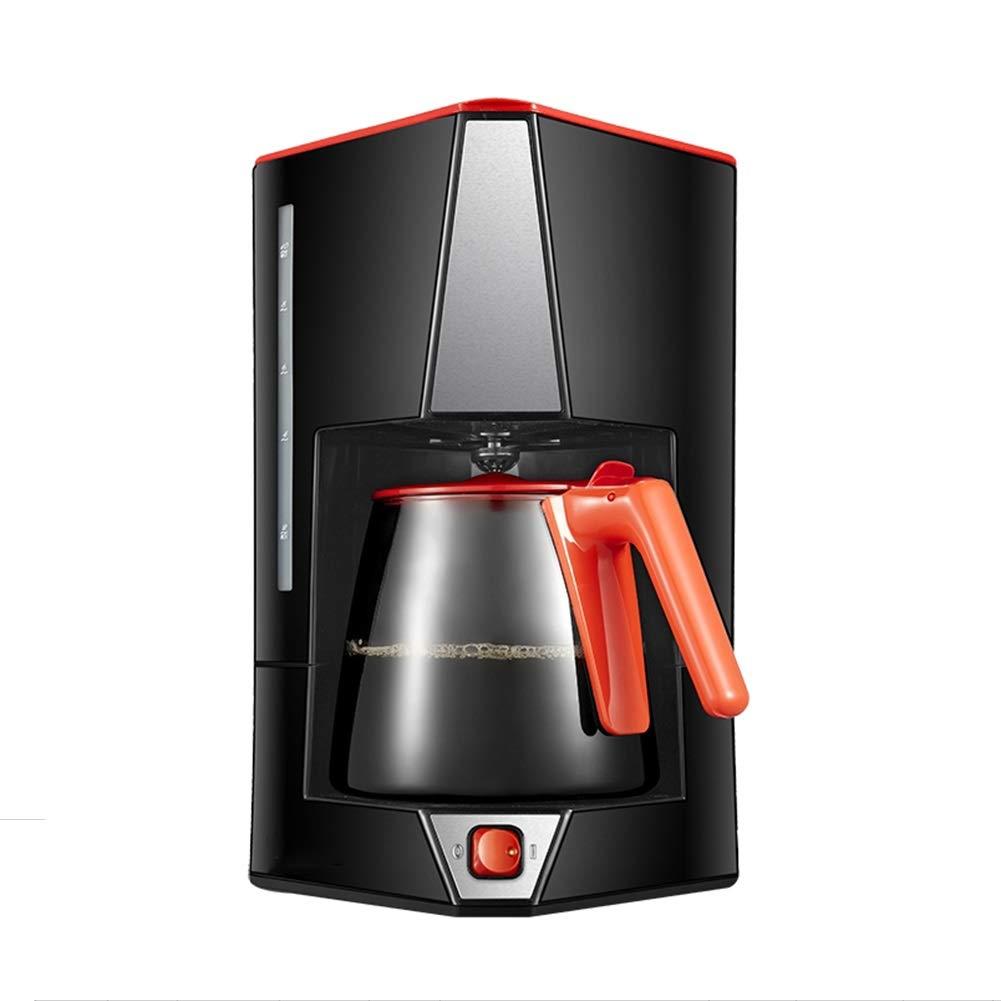 Portable Coffee Machine,Automatic American Drip Coffee Machine,12Cup Coffee Pot For Home Coffee And Tea,Black by LZPQW