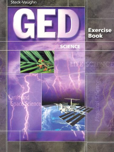 GED Exercise Books: Student Workbook Science