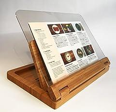 Flip Cookbook Holder Bamboo