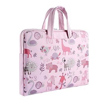 Gran regalo para la niña Rosa 15 pulgadas portátil bolsa portátil ordenador portátil Maletín: Amazon.es: Oficina y papelería