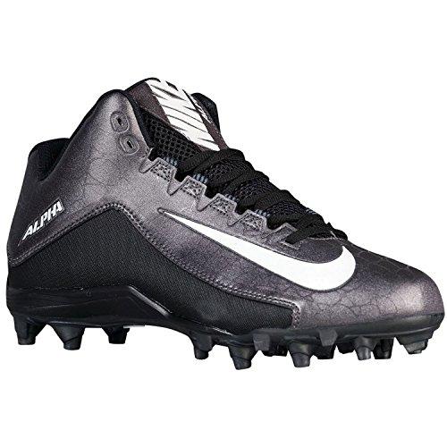 Nike Herren Alpha Strike 2 Dreiviertel Fußballschuh Schwarz