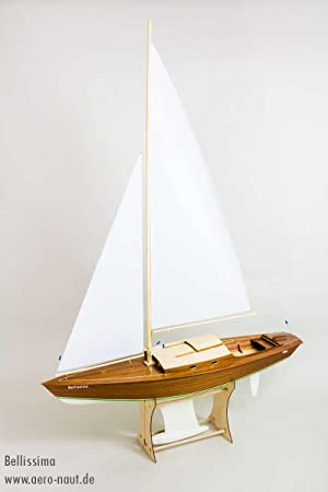Aeronaut AN3012/00 Bellissima Yacht Model Kit - Laser Cut