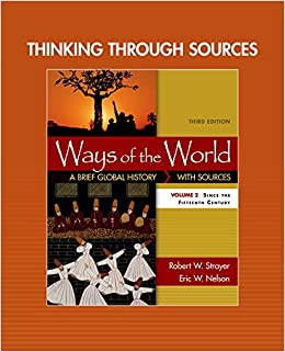 Thinking through Sources for Ways of the World, Volume 2