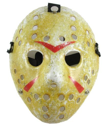 TingTang Cool Jason Hockey Pattern Mask Halloween mask deluxe Mask Toy for Kids by Ting Tang]()