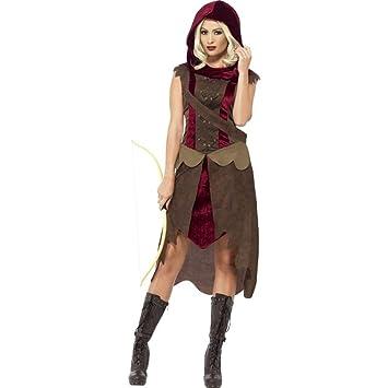 Smiffys Damen Kostum Mittelalter Fantasy Jagerin Larp Karneval