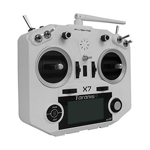 FrSky 2.4G ACCST Taranis Q X7 16 Channels Transmitter Radio Controller White
