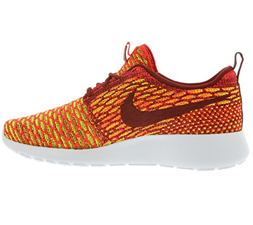 Bright Volt Team 600 Running Crimson Women's Nike Shoes Rosherun Red Flyknit xO1q4wHng0