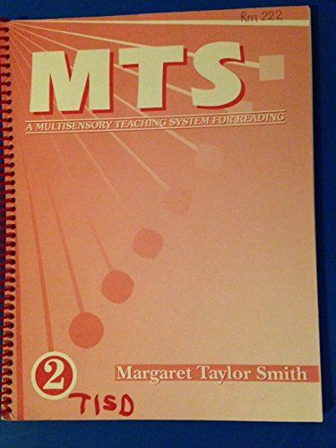 Mts   Multisensory Teaching System For Reading   Book 2   By Margaret Taylor Smith