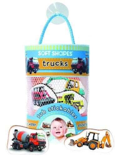 Soft Shapes Tub Stickables: trucks (Photographic Bath Stickers)