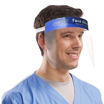 Protección facial cara de escudo protector protección ocular visera escudo de protección protección visera