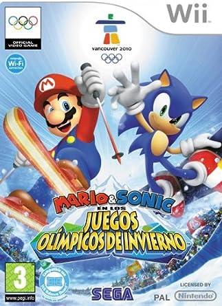 Mario & Sonic en los Juegos Olímpicos de Invierno: Amazon.es ...