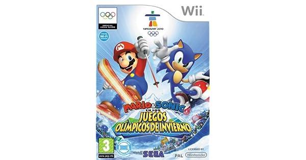 Mario & Sonic en los Juegos Olímpicos de Invierno: Amazon.es: Videojuegos