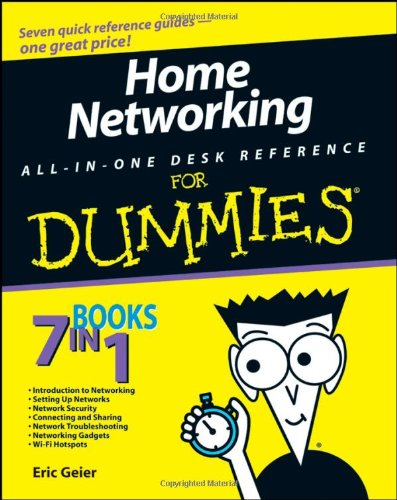 Terrace Server - Home Networking All-in-One Desk Reference For Dummies
