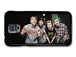 5 Seconds Of Summer Funny Faces Boyband case for Samsung Galaxy S5 A6307 by mcsharks