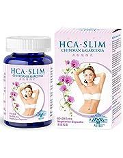 MIRI HCA-Slim (80 veg caps) Natural weight loss, Chitosan, Garcinia Cambogia (HCA), Aloe Vera, Green Tea, Best Weight Loss Supplement, Natural Appetite Suppressant