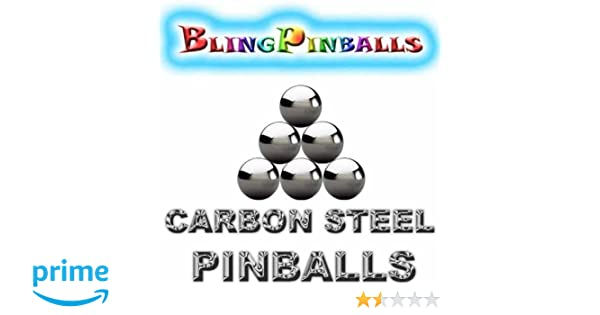 "Two 1-1//16/"" Inch Premium Mirror Finish Chrome Steel Replacement Pinballs"