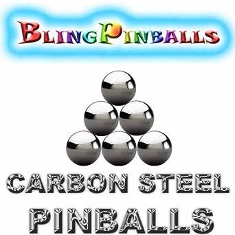 "50 1-1//16/"" Inch Mirror Finish Carbon Steel Replacement Pinball Machine Pinballs"