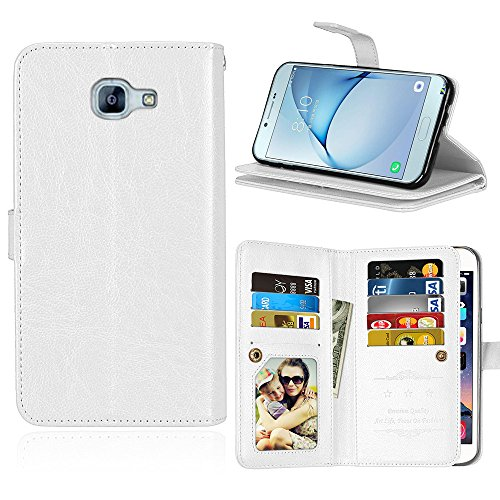 Slim Shockproof Case for Samsung A8 (White) - 4