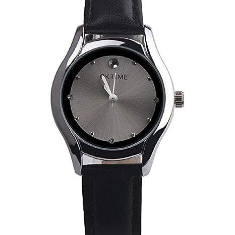 Amazon.com: Reloj de cuarzo para mujer, relojes de pulsera ...