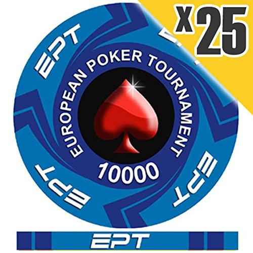 Fiches Ceramica EPT Replica Valore 10000 PokerShop.it
