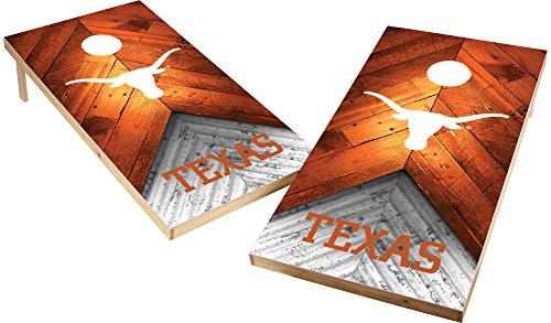 Wild Sports NCAA College 2'x4' Texas Longhorns Cornhole Set ()