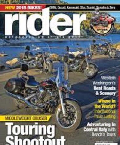 Rider Magazine Motorcycling At Its Best January (Corbin Gunfighter Seats)