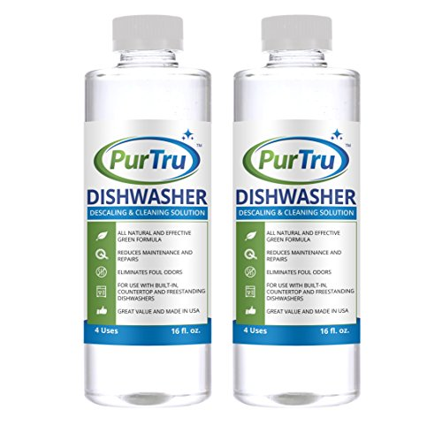 Price comparison product image Dishwasher Machine Cleaner (2 Pack) - All Natural and Safe Descaling & Cleaning Solution For Viking,  Wolf,  Sub-Zero,  Bosch,  Whirlpool,  Kenmore And All Built-In,  Countertop and Freestanding Dishwashers