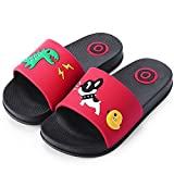 Girls Boys Bath Slippers Kids Beach Pool Shoes Indoor House Sandal Anti-Slip and Quick-Drying