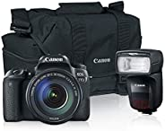 EOS 77D 18-135mm + Zoom Pack + flash 470EX