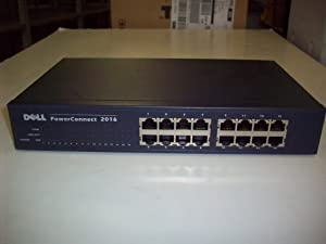 DELL POWERCONNECT 2016 10/100 ETHERNET SWITCH
