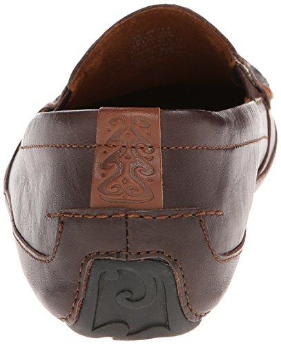 OluKai - Zapatos de cordones para hombre Chocolate/Chocolate