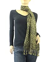 Animal Print Pure Cashmere Pashmina Scarf in a Variety of Designs