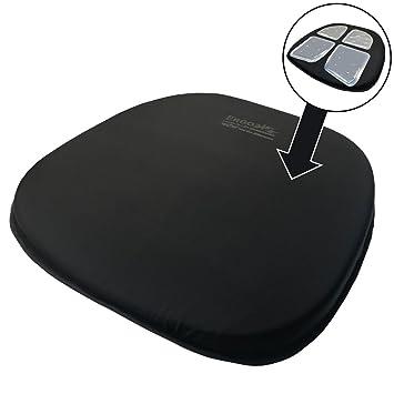 Amazon.com: ergo21 Viajes Asiento cushion- liquicell Mejora ...