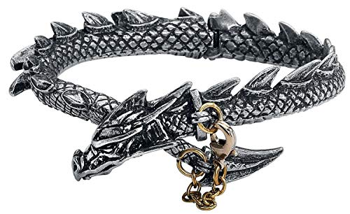 Dragon's Lure Bangle Bracelet by Alchemy Gothic