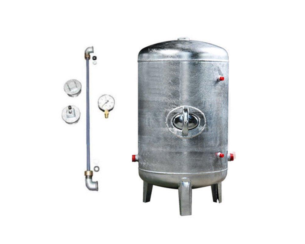 Druckbehälter 100 150 200 300 500 L 6 bar senkrecht mit Zubehör ...