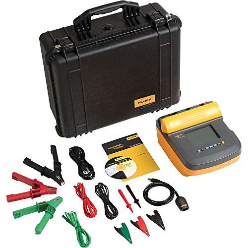 - Fluke 1555/KIT Insulation Resistance Tester Kit, 2 Teraohms Resistance , 10kV Voltage